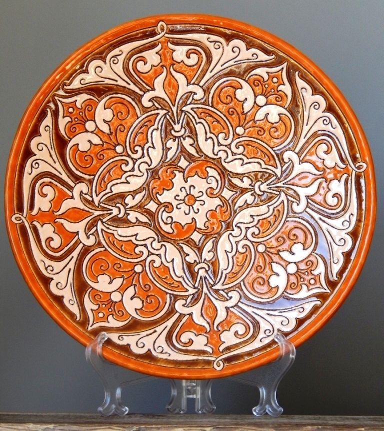 Lithuanian-Pottery-Art-By-GIEDRE-VINKSNAITE-2014-Wall